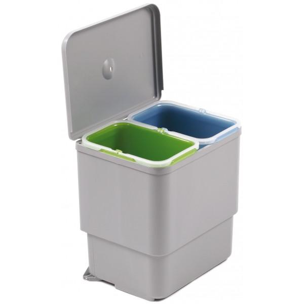 Kosz na odpady Sesamo 2 x 8 L