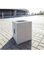 Betonowy kosz na śmieci Romka 40 L