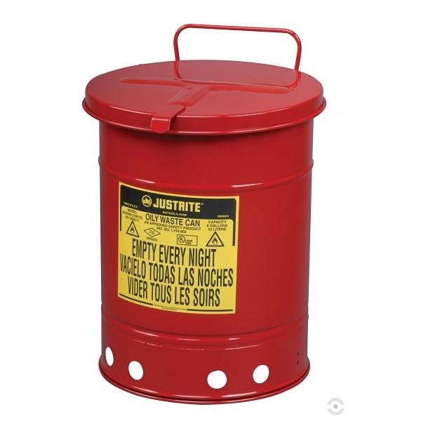 Pojemnik na odpady zaolejone
