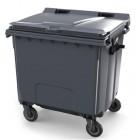 Pojemnik na odpady z płaską pokrywą 1100 L Contenur