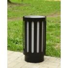 Kosz uliczny na śmieci zewnętrzne Steel 30 L