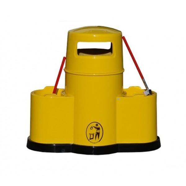 Uliczny kosz na śmieci Kosz – Myjka II 85L