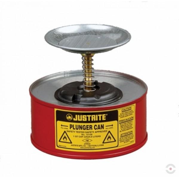Pojemnik zabezpieczający stalowy do czyszczenia 0,5l