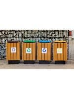 Kosz do segregacji odpadów Vaso o pojemności 50 L