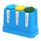 Pojemnik do segregacji 3 x 120L Trojak Mini