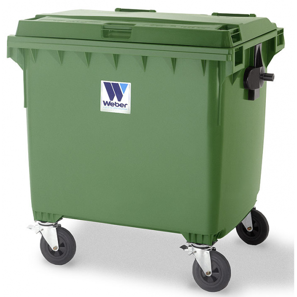 Pojemnik na odpady komunalne 1100 l Weber