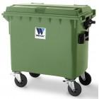 Pojemnik na odpady 660 l  Weber