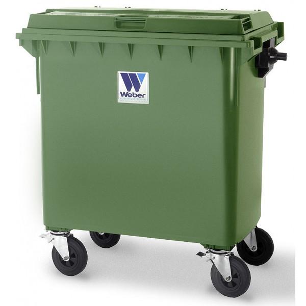 Pojemnik na odpady 770 l Weber