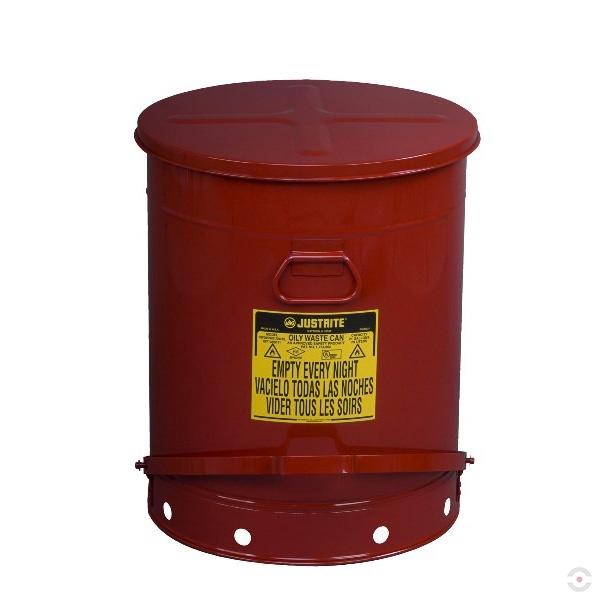 Pojemnik na odpady zaolejone z pedałem 80 L