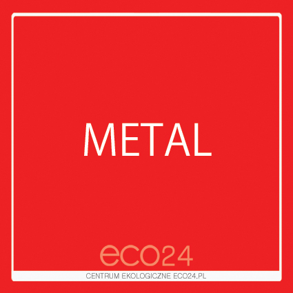 Naklejka kwadratowa metal